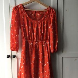 Urban Outfitters Bird & Binocular Dress